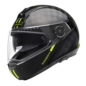 Schuberth C4Pro Carbon Fusion Yellow