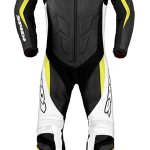 Spidi Supersport Touring  2-delt skinndress Sort fluo